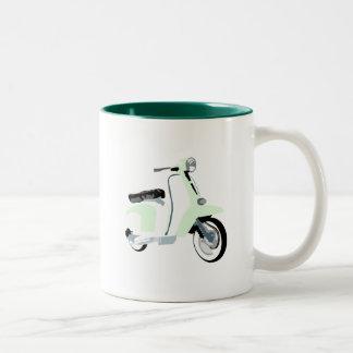Sixties Mod Scooter Two-Tone Coffee Mug