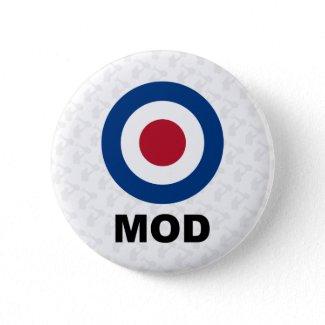 Sixties Mod Target Button button