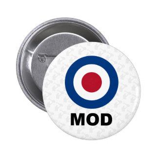 Sixties Mod Target Button