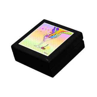 SIXTIES POP ART STYLE MARTINI KEEPSAKE BOX