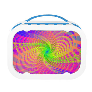 Sixties psychedelia lunch box