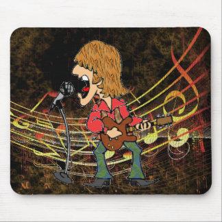 Sixties Rocker Mouse Pad