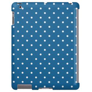 Sixties Style Blue Polka Dot iPad 2/3/4 Case