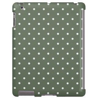 Sixties Style Green Polka Dot iPad 2/3/4 Case