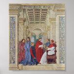Sixto IV por Melozzo DA Forli (1477) Impresiones
