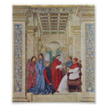 Sixtus IV by Melozzo da Forli (1477) Posters