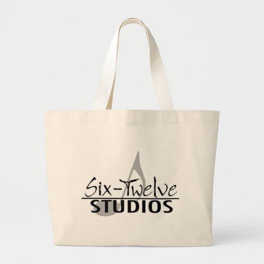 SixTwelveStudiosLogo Large Tote Bag
