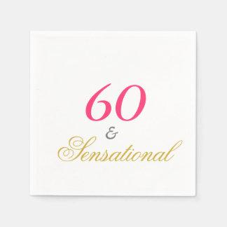 Sixty and Sensational Napkin
