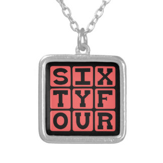 Sixty Four, Number 64 Necklaces