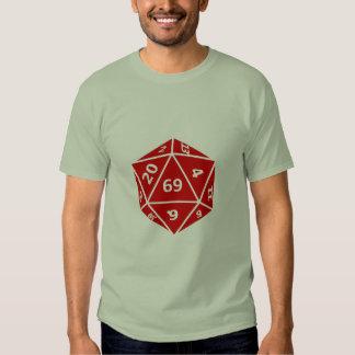 Sixty-Nine Sided Dice Shirt