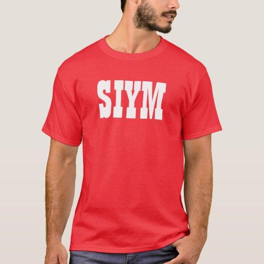 SIYM Red T-Shirt