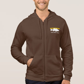 """""""Size Does Matter"""" - Funny bass fishing Hoodie"""