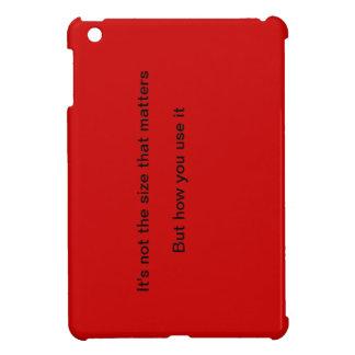 size doesnt matter mini ipad case