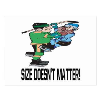 Size Doesn't Matter Postcard