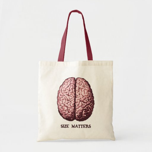 Size Matters Budget Tote Bag
