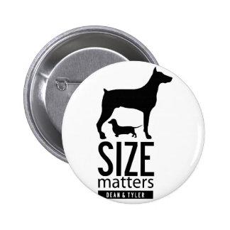 """Size Matters"" Button"