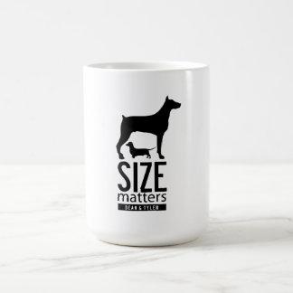 """""""Size Matters"""" Coffee Mug"""