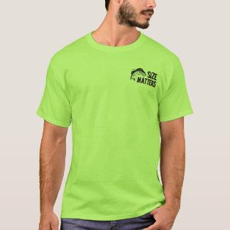 Size Matters! Funny Fishing Design T-Shirt