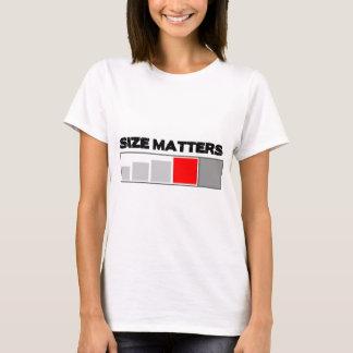 Size Matters - Geocaching Stuff T-Shirt