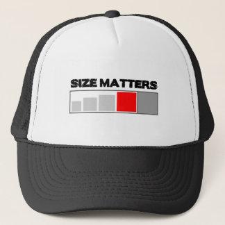 Size Matters - Geocaching Stuff Trucker Hat