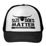 Size Matters - Longhorn Cattle Co Funny Cow Trucker Hat