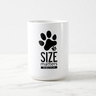 """""""Size Matters"""" Mugs"""