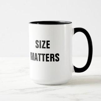 Size Matters Oversized Coffee Mug