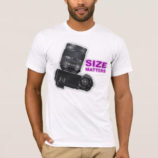 'Size Matters' Photography T-Shirt