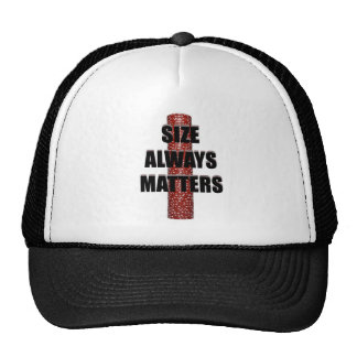 Size Matters (Poker) Trucker Hat