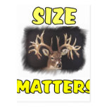 size matters post card