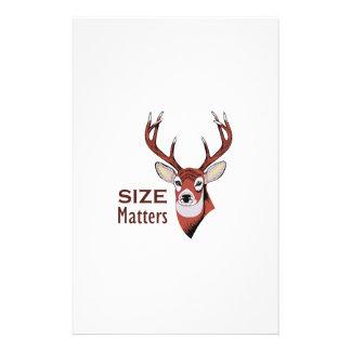 SIZE MATTERS STATIONERY
