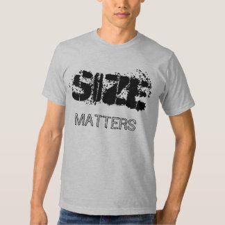 SIZE MATTERS T SHIRTS