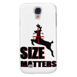 Size Mers! Deer Hunting Samsung Galaxy S4 Covers