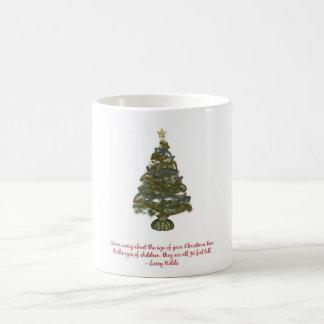 Size of a Christmas Tree Classic White Coffee Mug