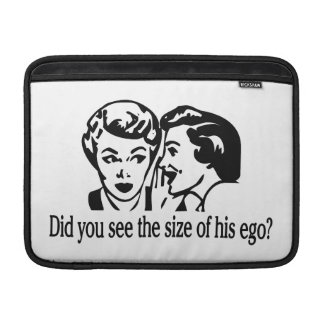 Size Of His Ego Retro Sleeves For MacBook Air