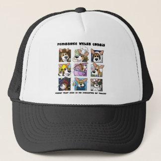 Size of Talent Pembroke Welsh Corgi Trucker Hat