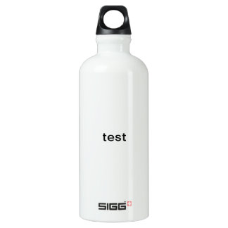 size only test water bottle