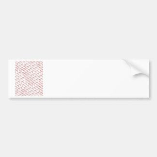 Size Specific 8x10 Photo Template Bumper Sticker