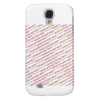 Size Specific 8x10 Photo Template Galaxy S4 Case
