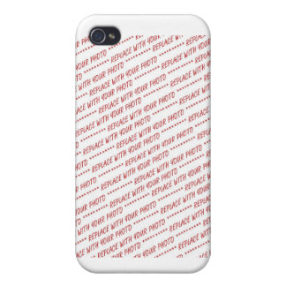 Size Specific 8x10 Photo Template iPhone 4 Case