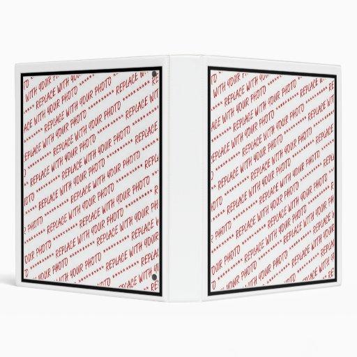 size specific 8x10 photo template vinyl binders zazzle. Black Bedroom Furniture Sets. Home Design Ideas