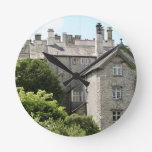 Sizergh Castle, England, United Kingdom Round Clock