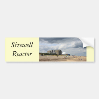 Sizewell Nuclear Power Station Bumper Sticker