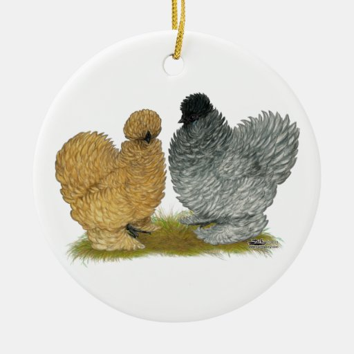 Sizzle Chickens Christmas Ornament
