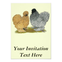 Sizzle Chickens Invitation