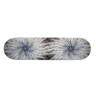 Sizzle Version 1 Fractal Abstract Art Skate Deck