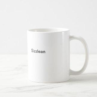 Sizzlean Classic White Coffee Mug