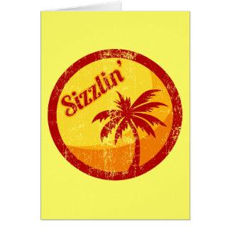 Sizzlin' Card