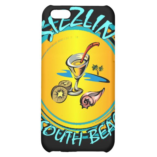 Sizzlin in South Beach Case For iPhone 5C