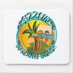 Sizzlin In South Beach Mouse Pad
